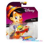 Hot Wheels Disney: Pinokkió kisautó