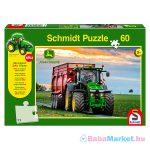 Schmidt: Siku traktor 60 db-os puzzle ajándék traktorral