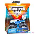 Monster Jam: Grave Digger The Legend - kék-szürke kisautó