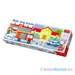 Trefl: Baby long két oldalú puzzle - város
