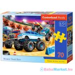 Monster Truck Show 70 darabos puzzle