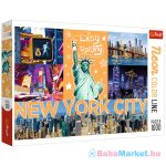 Trefl Neon Color Line:  New York City 1000 db-os puzzle