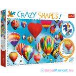 Trefl Crazy Shapes: Színes hőlégballonok 600 db-os puzzle