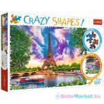 Trefl Crazy Shapes:  A Párizs feletti ég 600 db-os puzzle