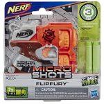 NERF: Microshots Zombie Strike Flipfury szivacslövő fegyver
