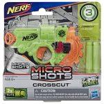 NERF: Microshots Zombie Strike Crosscut szivacslövő fegyver