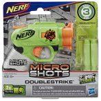 NERF: Microshots Zombi Strike Doublestrike szivacslövő fegyver