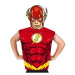 Rubies: Igazság ligája - Flash prémium jelmez papír maszkkal, 95-125 cm