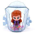 Disney hercegnők Jégvarázs 2: Suttogj és világít! Anna mini baba kristályban