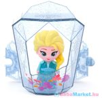 Disney hercegnők Jégvarázs 2: Suttogj és világít! Elza mini baba kristályban