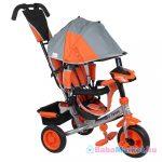 Tricikli babáknak -  Baby Mix Lux Trike szürke-narancssárga