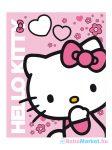 Gyerek kétoldalas takaró Hello Kitty 120x150 cm