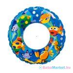 Világoskék halacskás úszógumi - 61 cm