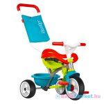 Smoby: Be Move Comfort szülőkaros tricikli - kék