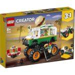 LEGO Creator: Óriási hamburgeres teherautó 31104