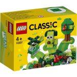 LEGO Classic: Kreatív zöld kockák 11007