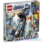 LEGO Marvel Super Heroes: Bosszúállók Csata a toronynál 76166