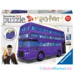 Harry Potter 3D lila busz 216 darabos puzzle