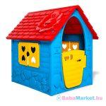 Első házam kerti játszóház - kék