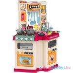 Szuperséf kiskonyhája működő vízcsappal és hangokkal - 77 cm