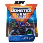 Monster Jam: Salvager kisautó szilikon karkötővel szilikon karkötővel