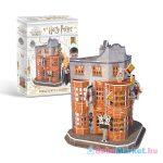CubicFun Harry Potter: Weasley féle varázsvicc bolt 62 darabos 3D puzzle
