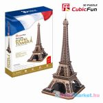 CubicFun: Eiffel Tower 82 darabos 3D puzzle
