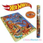 Hot Wheels játszószőnyeg ajándék kisautóval