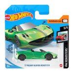 Hot Wheels: 17 Pagani Huayra Roadster - zöld