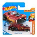 Hot Wheels: Erikenstein Rod - sötét vörös