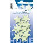 Herma: világító csillagok falmatrica - kicsi
