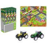 Farm mintájú játszószőnyeg traktorral - kétféle