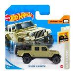 Hot Wheels: 20 Jeep Gladiator kisautó - olívazöld