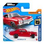 Hot Wheels: 70 Chevelle SS kisautó - piros