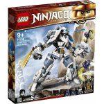 LEGO Ninjago: Zane mechanikus Titánjának csatája 71738