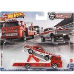 Hot Wheels Team Transport: 65 Mercury Comet Cyclone és Ford C-800