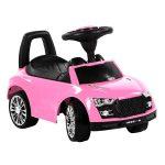Autós bébitaxi - rózsaszín