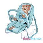 Lorelli Top Relax - baba pihenőszék - Green Cute Bear