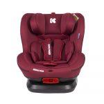 Kikkaboo autós gyerekülés - Twister Isofix 0-25kg piros