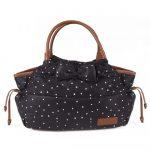Kikkaboo - pelenkázó táska - Dotty fekete