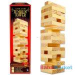 Klasszikus társasjátékok gyűjtemény - építkező torony fából