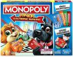 monopoly társasjáték - bankkártyás Junior
