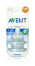 Avent Classic pótcumi gyorsfolyású 2db 4 lyukú