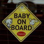 Baba az autóban matrica - Clippasafe Baby