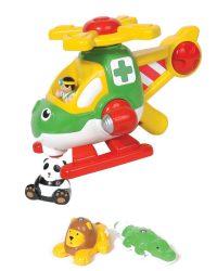 babajáték - WOW Harry állatmentő helikoptere 1014