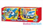 Babajáték - WOW Combo pack - rendőrség 80028