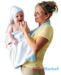 babatörölköző - Clevamama kék