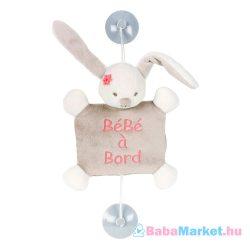 Nattou plüss Baby on Board Mia and Basile - Mia, a nyúl