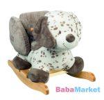Nattou plüss hintázó állatka Max, Noa and Tom - Max kutya