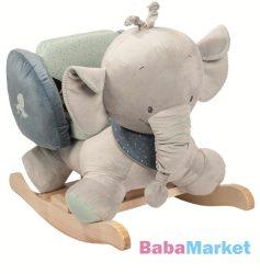 Nattou plüss hintázó állatka Jack, Jules and Nestor - Jack elefánt